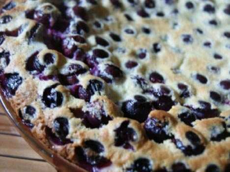Coronation Grape Clafouti